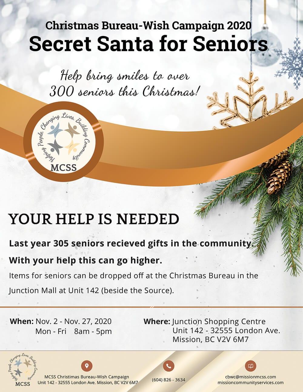 Secret Santa for Seniors